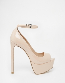 ASOS Planet Peep Toe High Heels