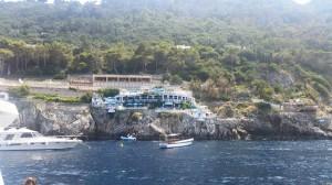 exclusive restaurant capri