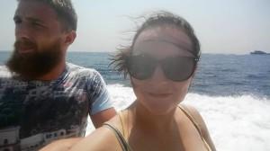 me and liam capri boat tour